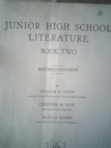 Jr High Literature Book Two