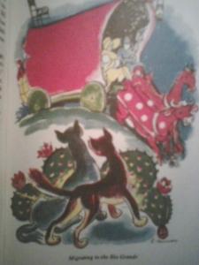 Pecos Bill Illustration